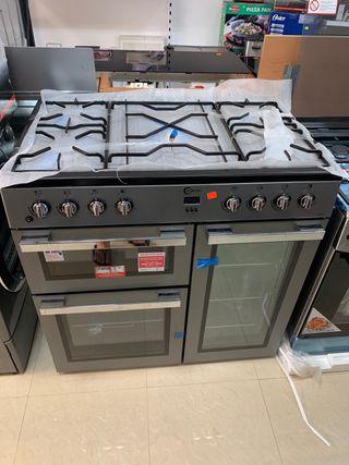 Cocina de gas 5 fuegos