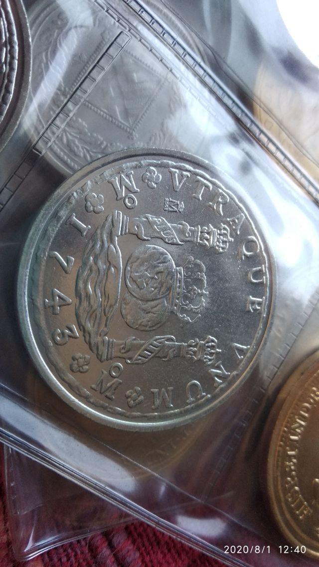 colección monedas del real a la peseta