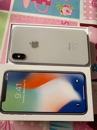 Iphone X 256 gb blanco
