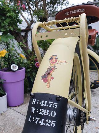 bicicleta vintage, custon, retro, harley