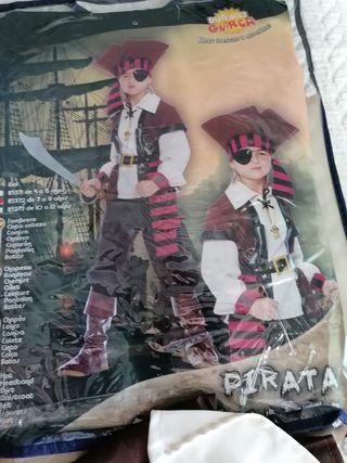 disfraz pirata de niño