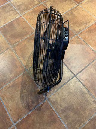 Ventilador industrial 50 cm negro