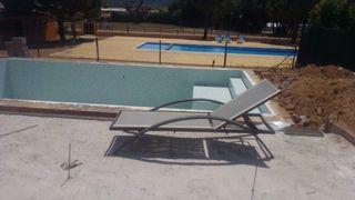 hamaca piscina