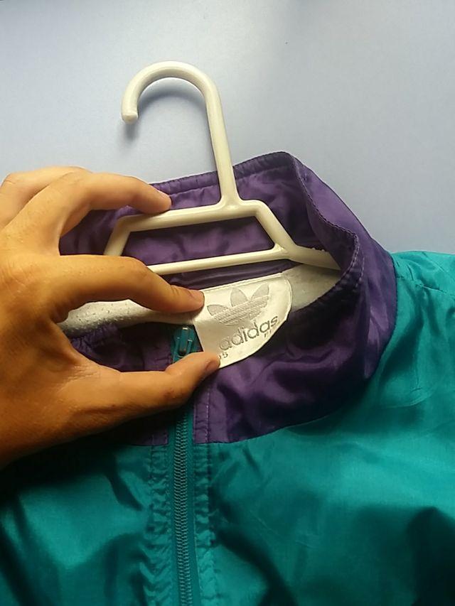 chaqueta vintage addidas