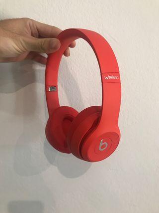 Beats Solo3 wireless, rojo