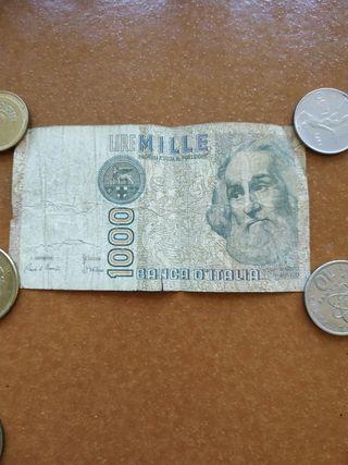 billete 1.000 lira Italia