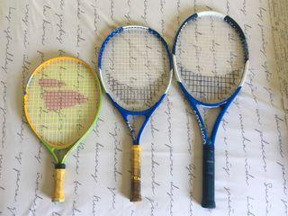 3 Raquetas de tenis Artengo