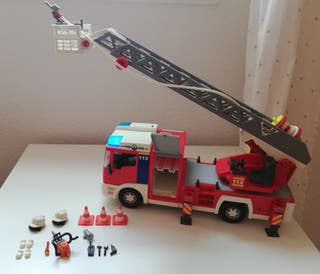 Juguete camión de bomberos de Playmobil