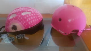 casco de bici y skate