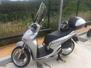 MOTO SH300I TOP BOX Y ABS