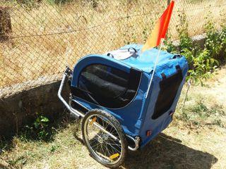 carro remolque bici mascotas