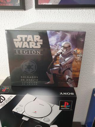 star wars legion, soldados de asalto nuevo