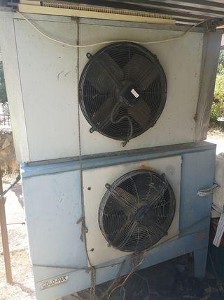 Compresor frío industrial.