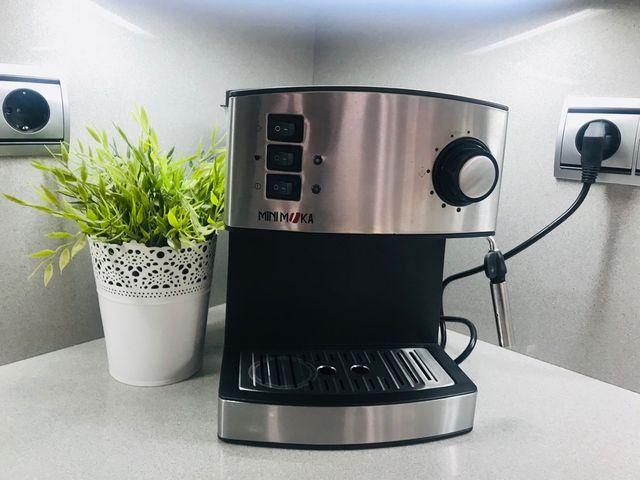 Cafetera Espresso Mini Moka Acero Inoxidable