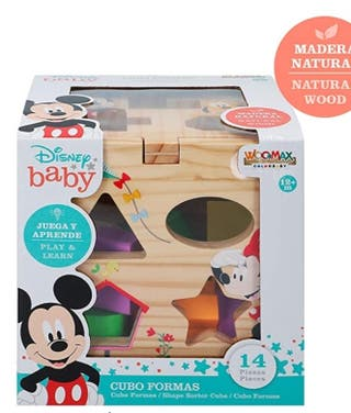 Disney cubo piezas encajable