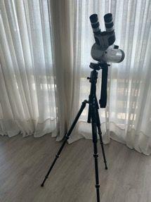Telescopio analógico con trípode Zomei