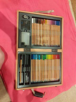 Watercolour pencil set