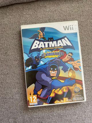 El intrepido Batman Wii
