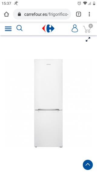 frigorífico combi Samsung con garantía