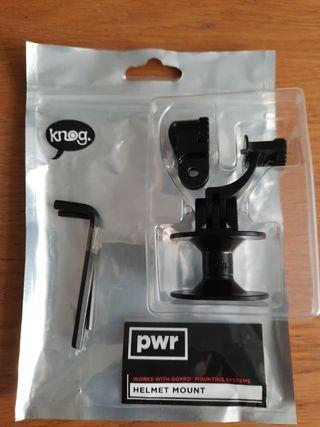 Knog PWR/Gopro Helmet mount