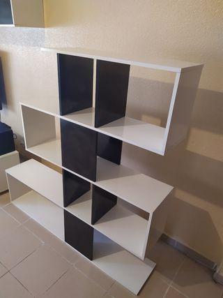 Mueble estanteria como nuevo, para salon o oficina