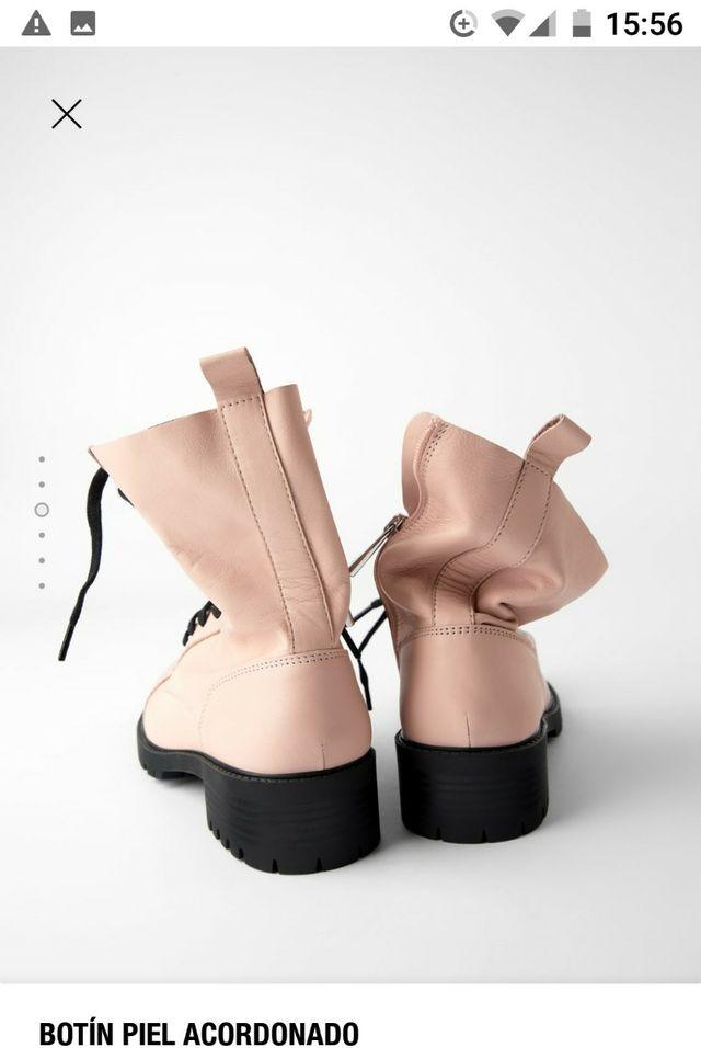 botines Zara número 38 sin estrenar con etiqueta