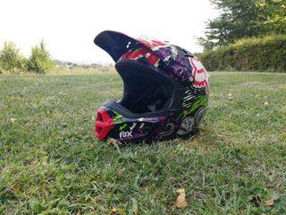 casco motocros niño Fox