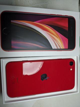 iPhone SE 128 GB rojo
