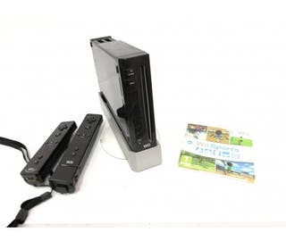 Videoconsola Nintendo Wii Negra