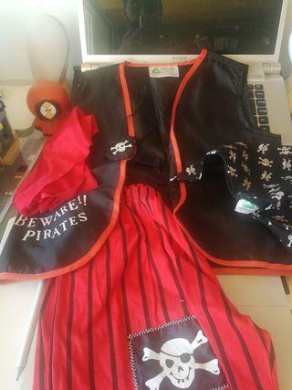 disfraz pirata 3 a 4 años