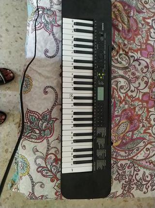 teclado piano sintetizador casio