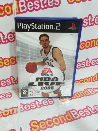 JUEGO PS2 NBA LIVE 2005