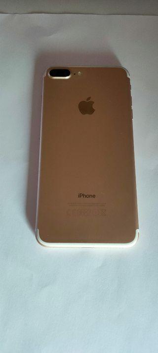 iphone 7 plus dorado como nuevo