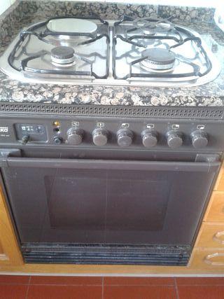 Horno y placa gas natural/eléctrica