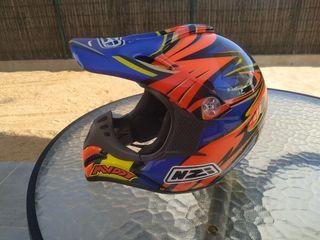 Casco niño motocross