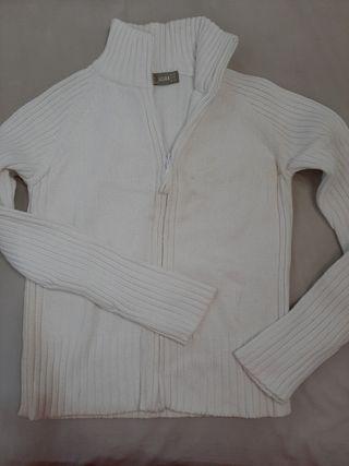chaqueta blanca de Zara ,talla M