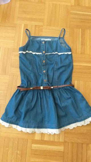 vestido vaquero niña Mayoral 6 años