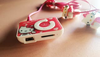reproductor MP3 Hello kitty
