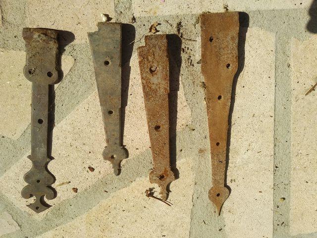Bisagras de hierro fundido