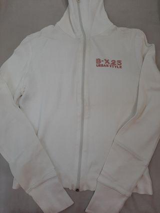 chaqueta Blanca de Bershka, talla M