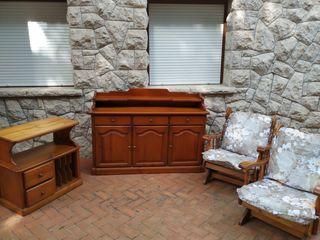 Muebles para salón vintage retro