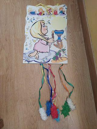 Piñata comunión niño y niña