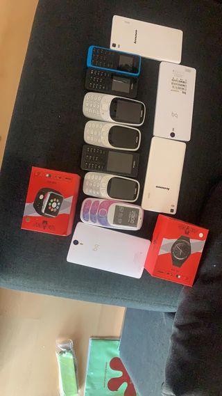 Lote de móviles
