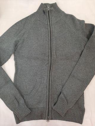 chaqueta gris Zara ,talla S