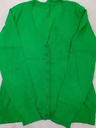 chaqueta verde oliva entallada