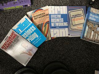 Bunch of self-help books