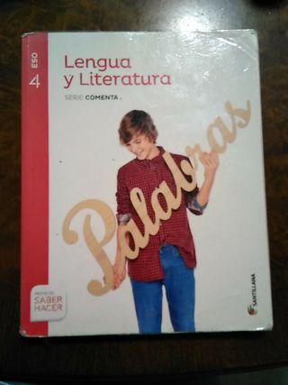 libro lengua y literatura 4 eso