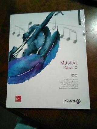 libro musica clave c eso