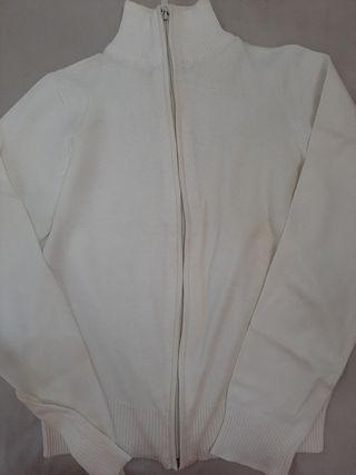chaqueta Blanca entallada