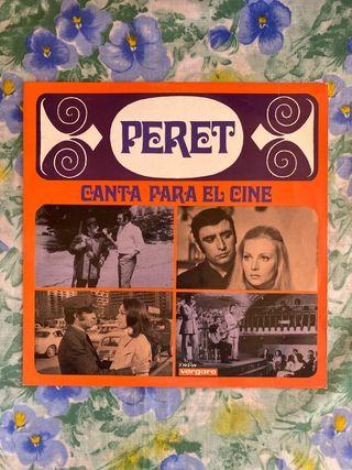 Vinilo Peret Canta para el cine